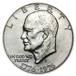 1976-D Eisenhower Dollar - Brilliant Uncirculated - Type-2