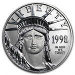 1998 1/2 oz Platinum American Eagle - Brilliant Uncirculated