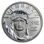 1998 1/4 oz Platinum American Eagle - Brilliant Uncirculated
