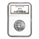 2006 1/2 oz Platinum American Eagle MS-70 NGC (Early Releases)