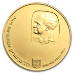 1974 Israel David Ben-Gurion Proof Gold 500 Lirot