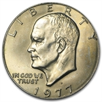 1977-D Eisenhower Dollar - Brilliant Uncirculated