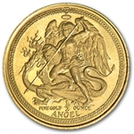 Isle of Man 1/2 Angels Gold (Proof or Uncirculated) - Handled