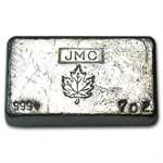 7 oz Johnson Matthey (Poured, Canada) .999 Fine