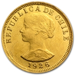 Chile 50 Pesos Gold (AU/BU)