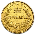 Australia Sovereign Gold Victoria Off Quality