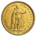 Hungary 10 Korona Gold Average Circulated