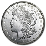 1921-D Morgan Dollar - Brilliant Uncirculated