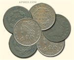 1800-1857 Half Cents (Average Circulated)