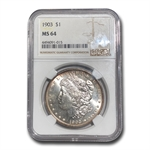 1903 Morgan Dollar MS-64 NGC