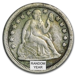 1837-1891 Liberty Seated Dime (Average Circ)