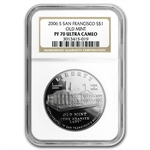2006-S San Francisco Old Mint $1 Silver Commem PF-70 UCAM NGC
