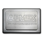 1 Kilo (32.15 oz) APMEX Silver Bar (Stackable, IRA approved)