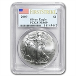 2009 Silver American Eagle - MS-69 PCGS - First Strike