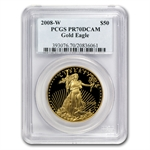 2008-W 1 oz Proof Gold American Eagle PR-70 PCGS