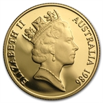 Australia 1986 200 Dollars Gold Proof Coin