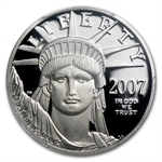 2007-W 1/4 oz Proof Platinum American Eagle PR-70 PCGS