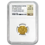 Eastern Roman Gold Solidus of Leo I (457-474 AD) NGC-AU