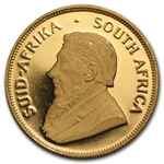 1997 1/2 oz Proof Gold South African Krugerrand (30th Ann)