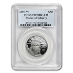 2007-W 1/2 oz Proof Platinum American Eagle PR-70 PCGS