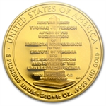 2007-W 1/2 oz Proof Gold Jefferson's Liberty PR-69 DCAM (FS) PCGS