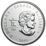 2010 1 oz Silver Canadian Maple Leaf (BU) (Vancouver)