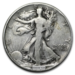 90% Silver Walking Liberty Half-Dollars - $100 Face-Value Bag