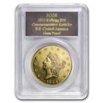 PCGS Gem Proof $50 Kellogg Restrike (2.419 oz AGW)