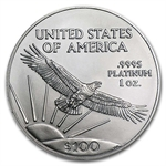 1 oz Platinum American Eagle - Random Year
