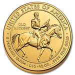2008-W 1/2 oz Uncirculated Gold Jackson's Liberty (w/Box & CoA)