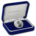 1 oz George Washington Platinum Medal (Proof, Box, CoA)