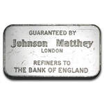 100 gram Johnson Matthey Bar (London - Bank of England) .999 Fine
