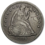 1846-O Liberty Seated Dollar - Extra Fine