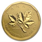 2008 1 oz Gold Canadian Maple Leaf .99999 Variety (No Assay)