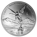 2009 5 oz Silver Mexican Libertad (Brilliant Uncirculated)