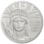 2007-W 1 oz Burnished Platinum American Eagle