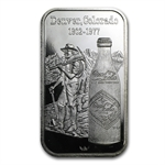1 oz Coca Cola (Denver, CO) Silver Bar .999 Fine