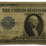 1923 $1 Silver Certificate (Very Good) FR# 237