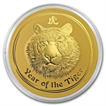 2010 1 Kilo (32.15 oz) Gold Lunar Year of the Tiger (Series II)