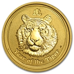 2010 1/10 oz Gold Lunar Year of the Tiger (Series II)