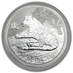 2010 1 oz Silver Australian Year of the Tiger Coin (Series II)
