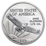 1/4 oz Platinum American Eagle - Random Year