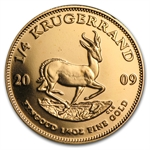 2009 1/4 oz Gold South African Krugerrand