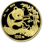 1994 1 oz Gold Chinese Panda MS-69 PCGS - Small Date
