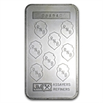 5 oz Johnson Matthey Silver Bar (Republic National Bank of NY)