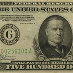 1934-A (G-Chicago) $500 FRN (Very Fine)