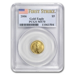 2006 4-Coin Gold American Eagle Set MS-70 PCGS (FS) Registry Set
