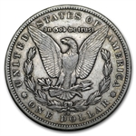 1879-CC Morgan Dollar - Extra Fine - Capped CC