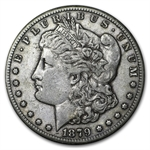 1879-CC Morgan Dollar - (Capped CC) Extra Fine