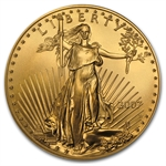 2007-W 1 oz Burnished Gold American Eagle